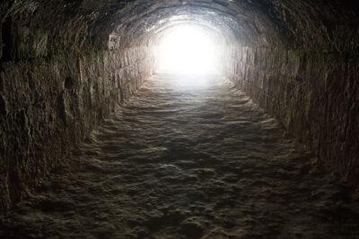 bajka o drodze - tunel